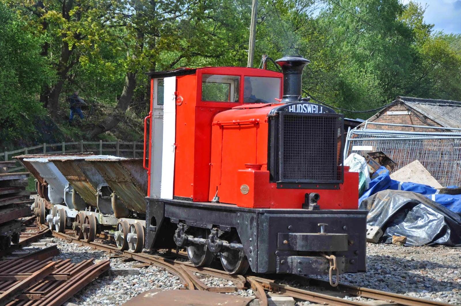 Hudswell D558 // Credit: Amerton Railway