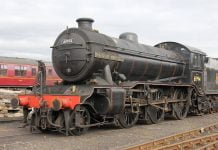 61994 The Great Marquess arrives at Bo'ness