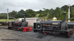 Hugh Napier and Winifred at Llanuwchllyn