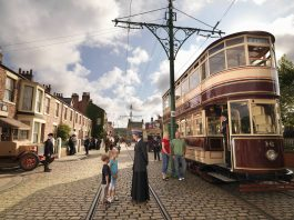Beamish with themed street // Credit: Beamish Facebook Page