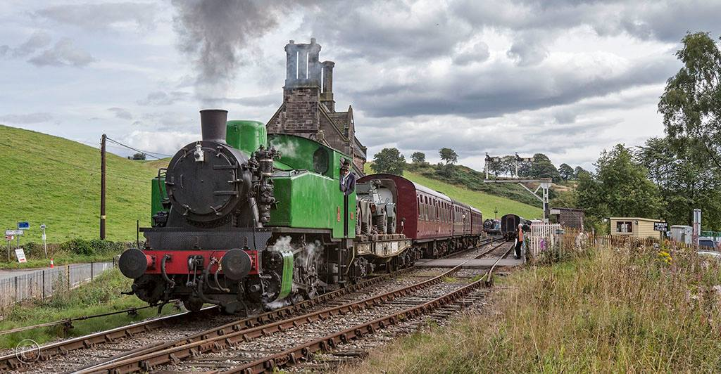 Hotspur and Mixed Goods // Credit: Churnet Valley Railway & Dave Gibson