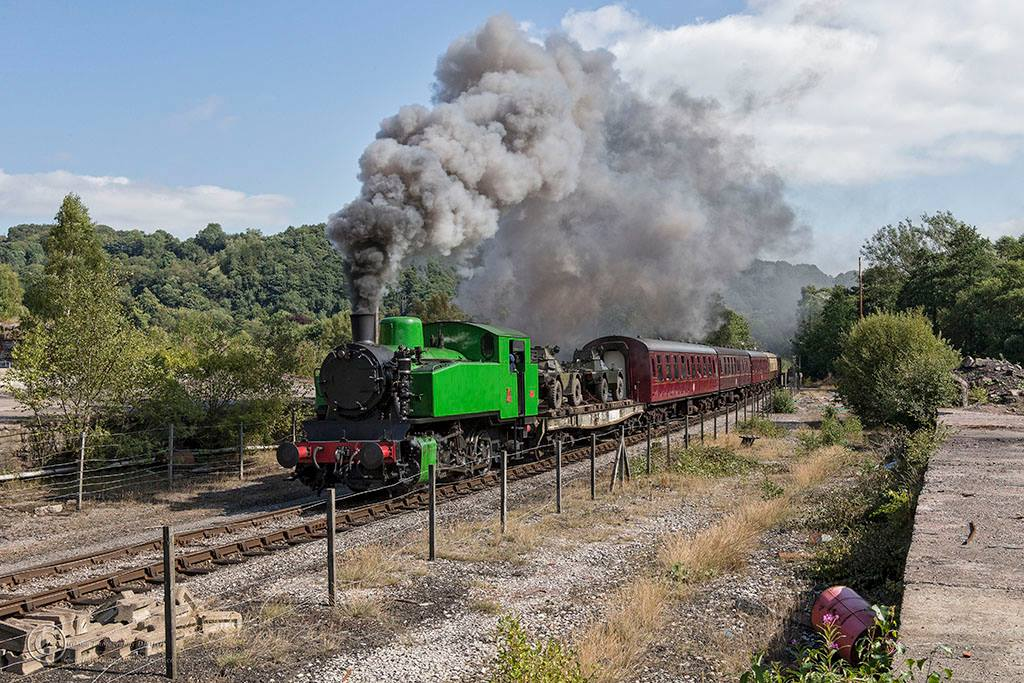 Hotspur and goods // Credit: Churnet Valley Railway & Dave Gibson