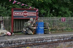 Re-enactors // Credit: Churnet Valley Railway & Dave Gibson