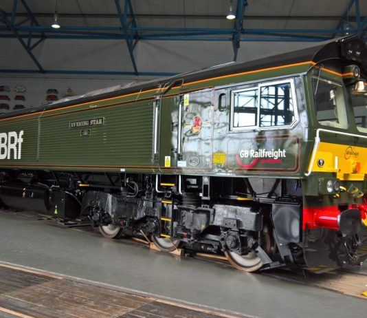 66779 Evening Star at the National Railway Museum in York