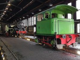 Lucie in Grosmont Sheds // Credit: North Yorkshire Moors Railway