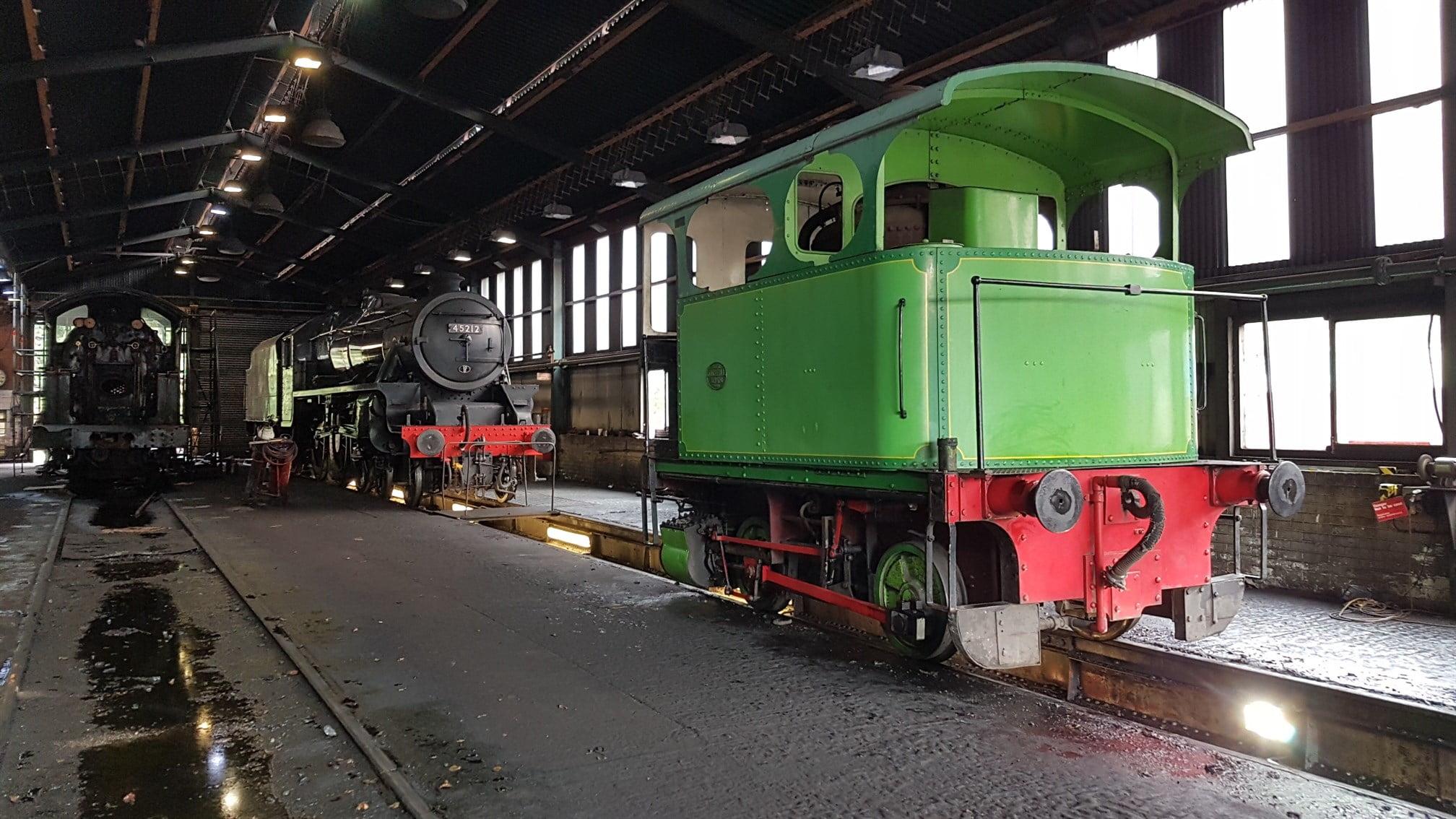 Railway Worker Buys His Own Steam Locomotive