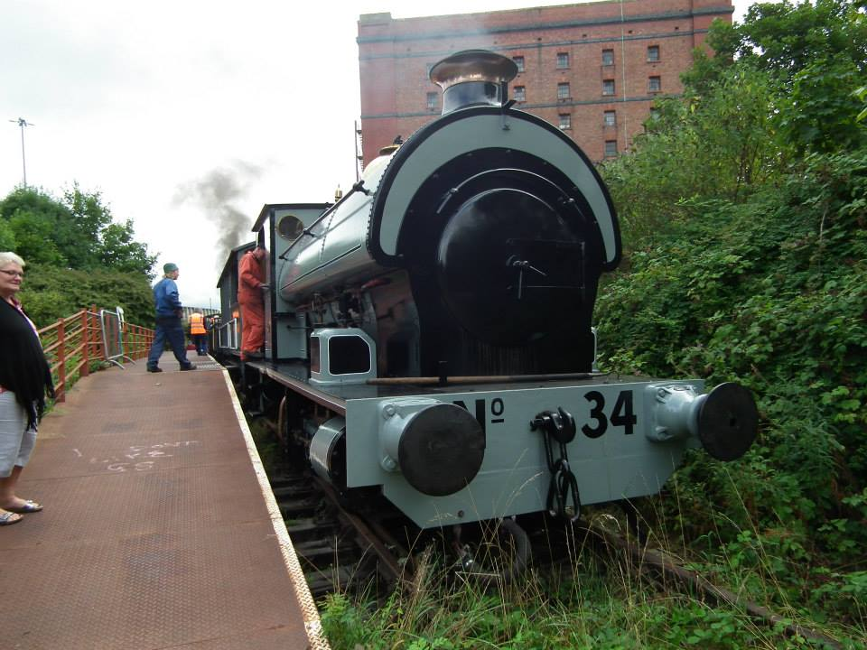 Portbury // Credit: Bristol Harbour Railway