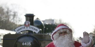 Santa is looking for a new helper // Credit: Bodmin & Wenford Railway