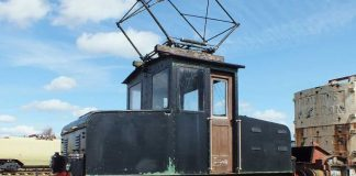 No. 1 at the ERM // Credit: Electric Railway Museum