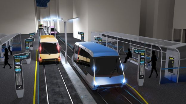 New Plans For Coventry Driverless Railway Released