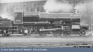 Saint No. 190, in 4-4-2 'Atlantic' formation, at Exeter Credit: The Saint Project website