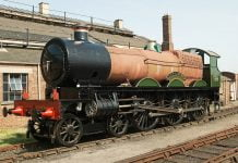 """2999 """"Lady of Legend"""" at Didcot Railway Centre // Credit: Didcot Railway Centre FB Page"""