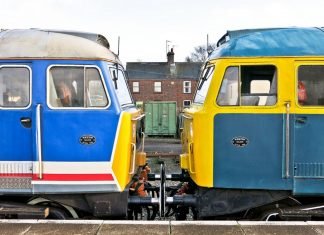 "47595 ""Aldburgh Festival""(Left) and 47367 // Credit: Mid Norfolk Railway Website"