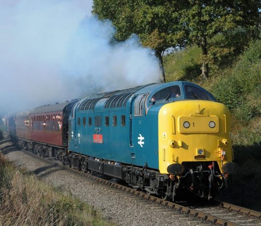 "55019 ""Royal Highland Fusilier"" // Credit: Severn Valley Railway FB Page"