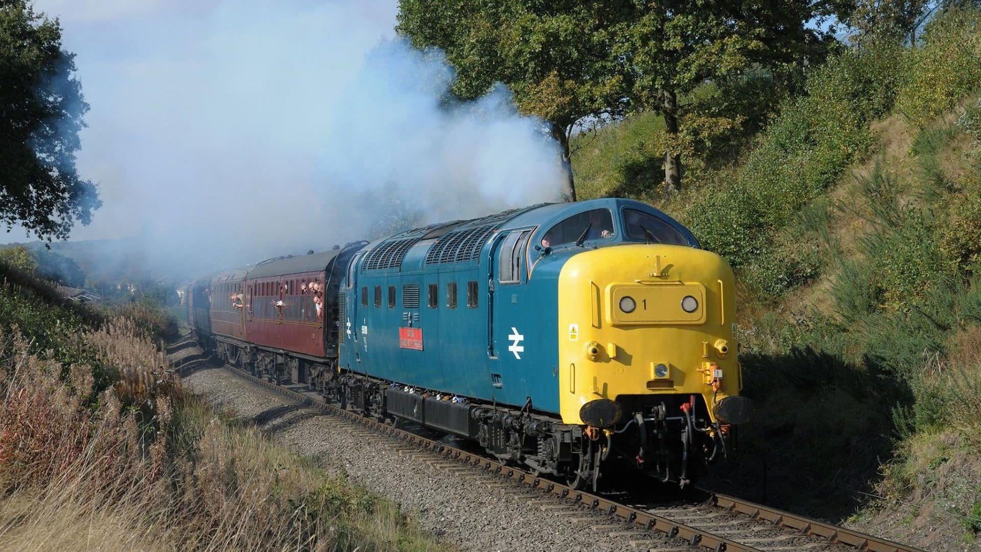 """55019 """"Royal Highland Fusilier"""" // Credit: Severn Valley Railway FB Page"""