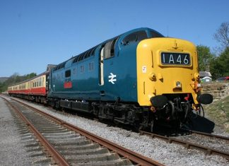 "55019 ""Royal Highland Fusilier"" // Credit: James Whincup and The Deltic Preservation Society Ltd"