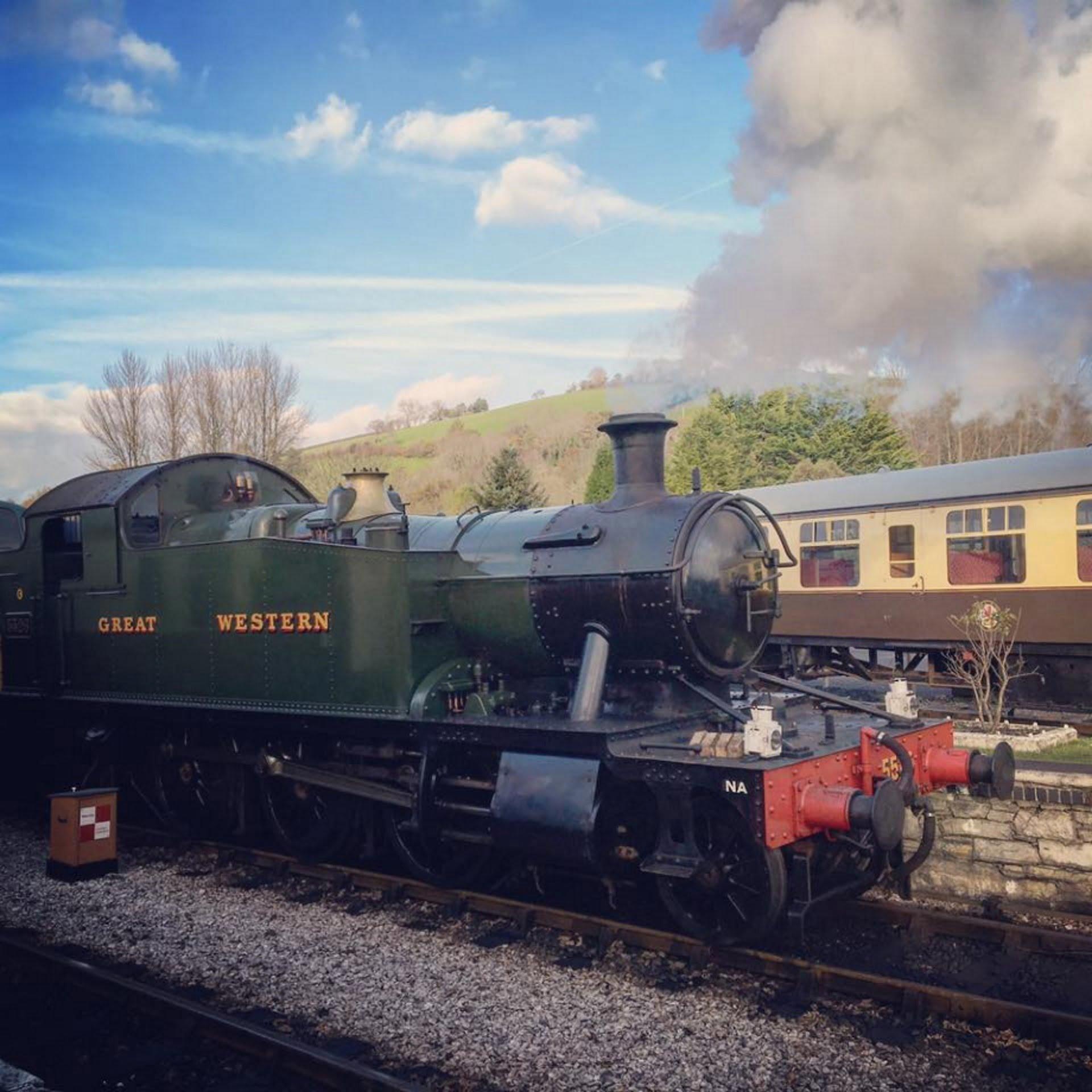 5526 at South Devon Railway // Credit: South Devon Railway FB Page