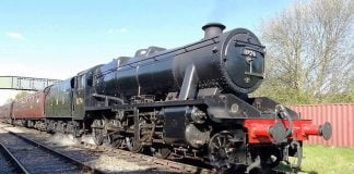 LMS 8F 8274 // Credit: Great Central Railway Nottingham FB Page