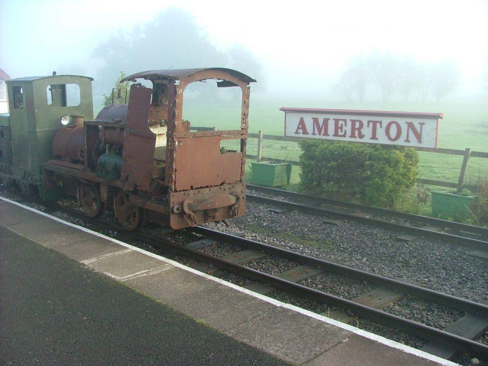 Baguley 3235 at Amerton Railway