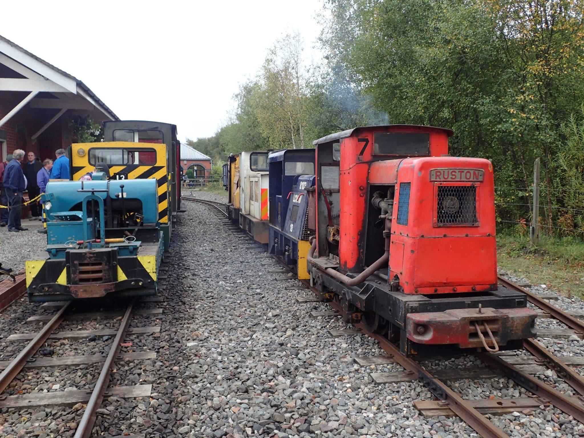 Apedale Valley Railway Diesel Gala