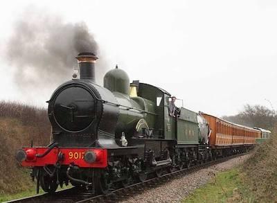 Dukedog No. 3217 Earl of Berkeley steam locomotive