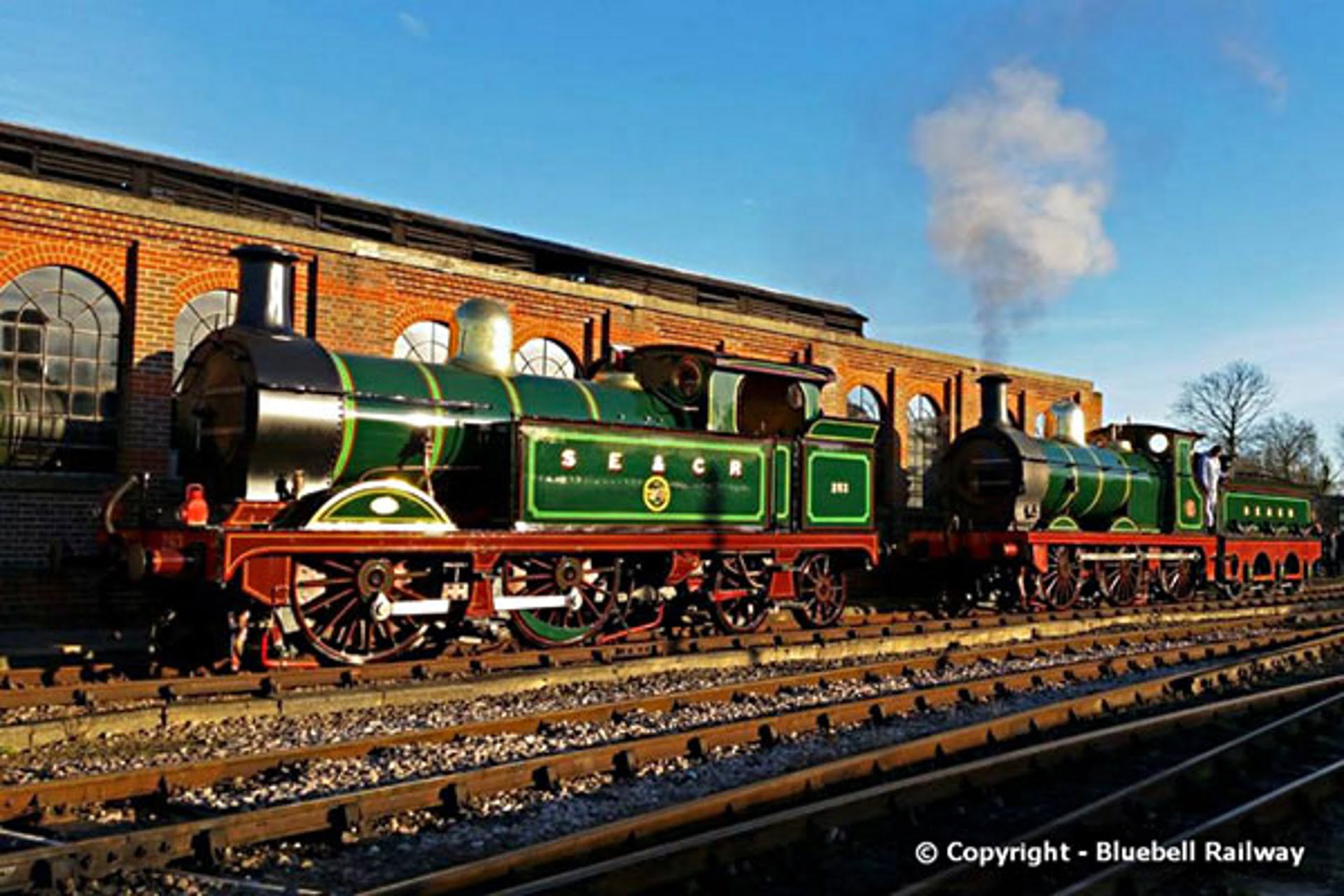 H Class no. 263 and O1 Class no. 65 Credit Martin Lawrence and Bluebell Railway website
