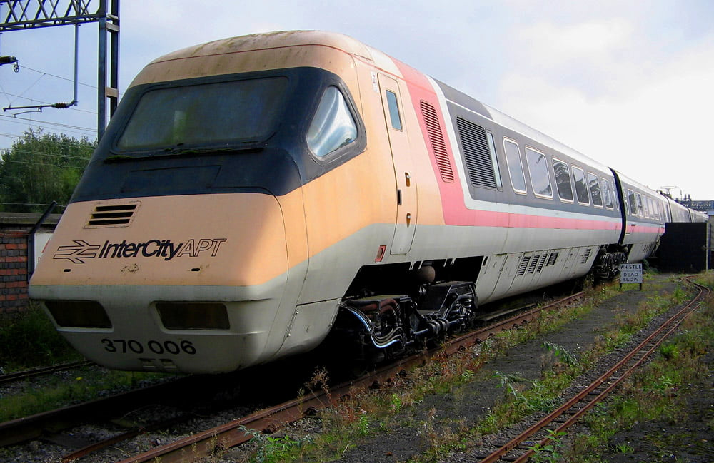British Rail APT at the ERM