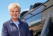 Julie Walters to ride on Harry Potter train in Scotland in new program for Channel 4