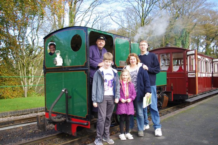 500,000th Passenger travels on the Lynton and Barnstaple railway