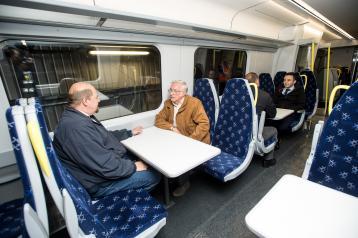 ScotRail Class 385 train interior