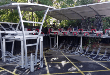 Cycle Hub which will provide all weather protection for your bike by London Midland