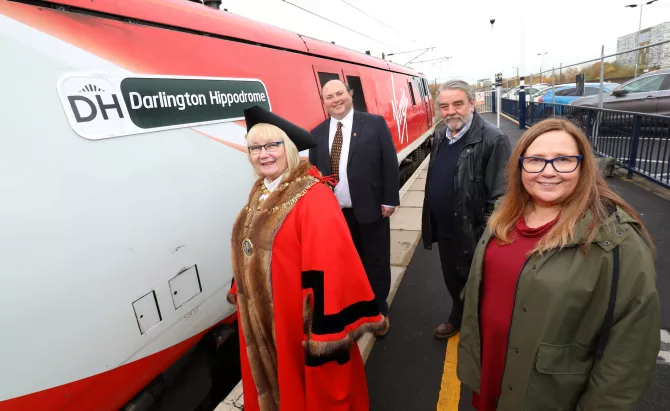Virgin Trains 91126 Darlington Hippodrome