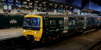 Great Western Railway Class 166 set to operate in Bristol