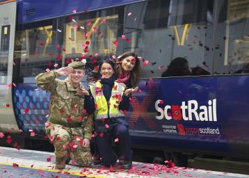 ScotRail poppy train