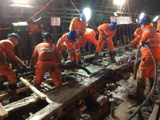Bakerloo Tube Engineering works