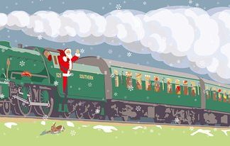 Mid Hants Railway Watercress Line Santa Special
