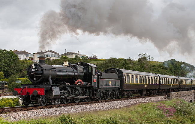 7827 Lydham Manor // Credit: South Devon Railway
