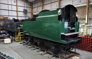 34028 Eddystone's Tender with new Tank // Credit Southern Locomotives Ltd