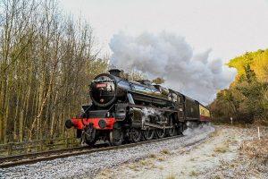 44806 hauling a Santa Special // Credit Neil Colls