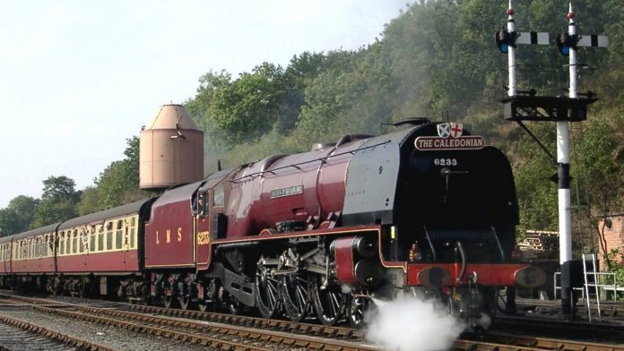 6233 Duchess of Sunderland on the Severn Valley Railway // Credit Severn Valley Railway
