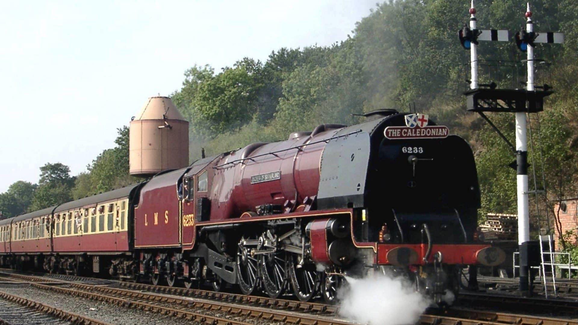 6233 Duchess of Sunderland on the Severn Valley Railway // Credit Severn Valley Railway