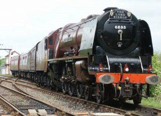 "6233 ""Duchess of Sunderland"" hauling a Mainline Tour // Credit Gareth Griffiths"