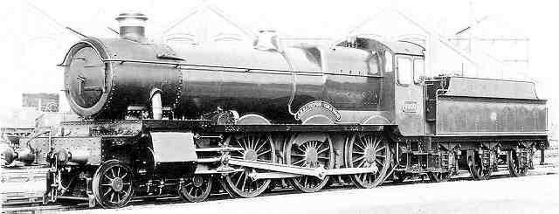 """6800 """"Arlington Grange"""" as built // Credit Rail UK"""