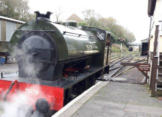 75178 // Credit Bodmin & Wenford Railway's website