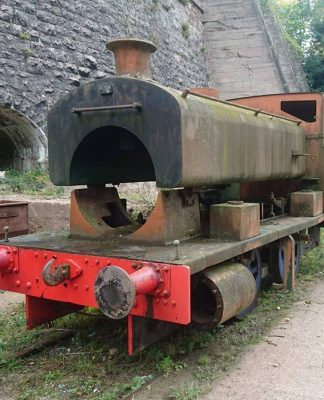 Andrew Barclay 2352 at Tanat Valley Light Railway Credit Andrew Barclay 2352 FB Page