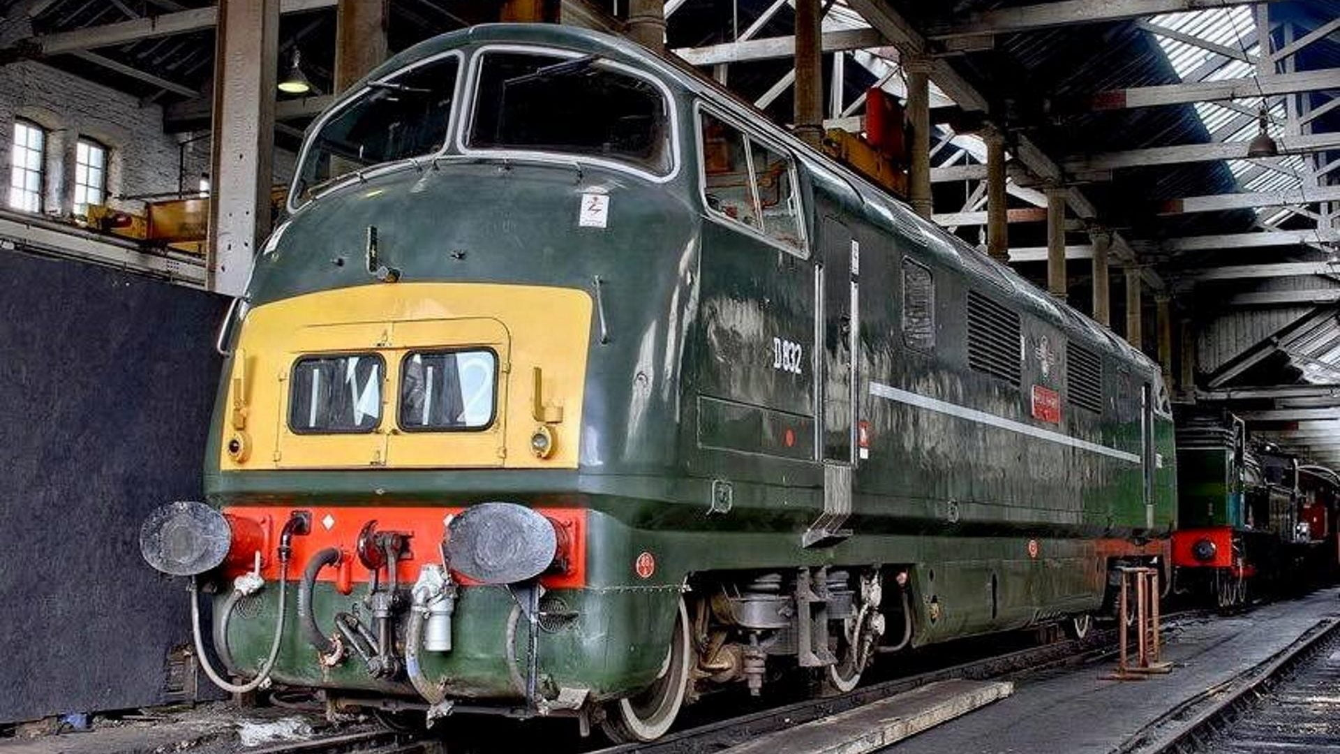 """D832 """"Onslaught"""" // Credit Severn Valley Railway"""