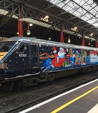 Chiltern Railways Santa Train Sleigh