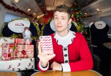 Matt Edmondson teams up with Virgin Trains to get people into the Christmas spirit
