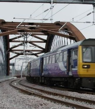 First trains to run over the Ordsall Chord in Manchester