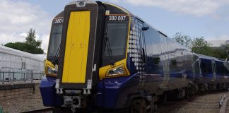 ScotRail Class 380 electric trains